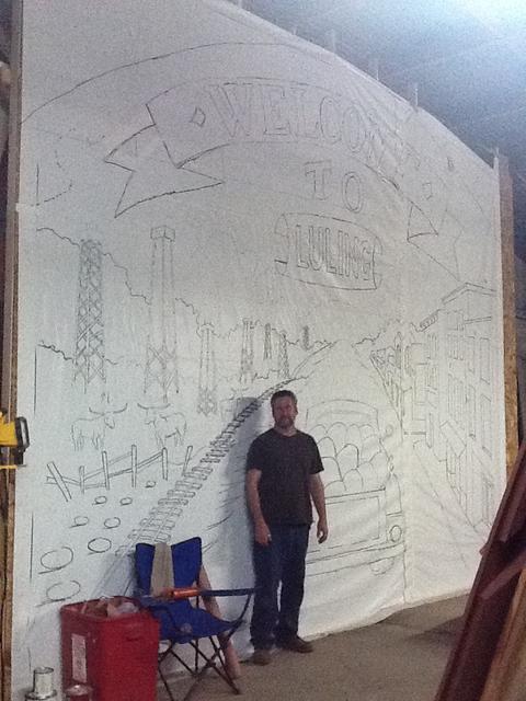 Luling, TX Mural